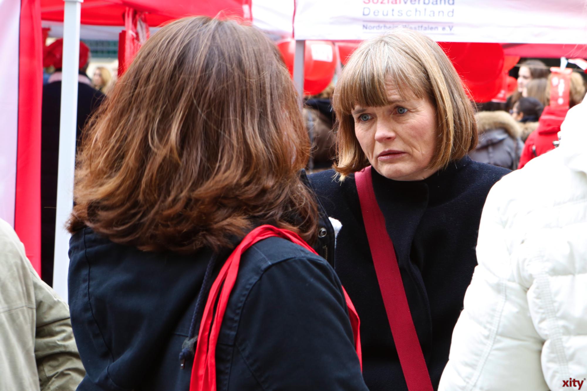 Bürgermeisterin Klaudia Zepuntke unterstützte die Aktion(Foto: xity)