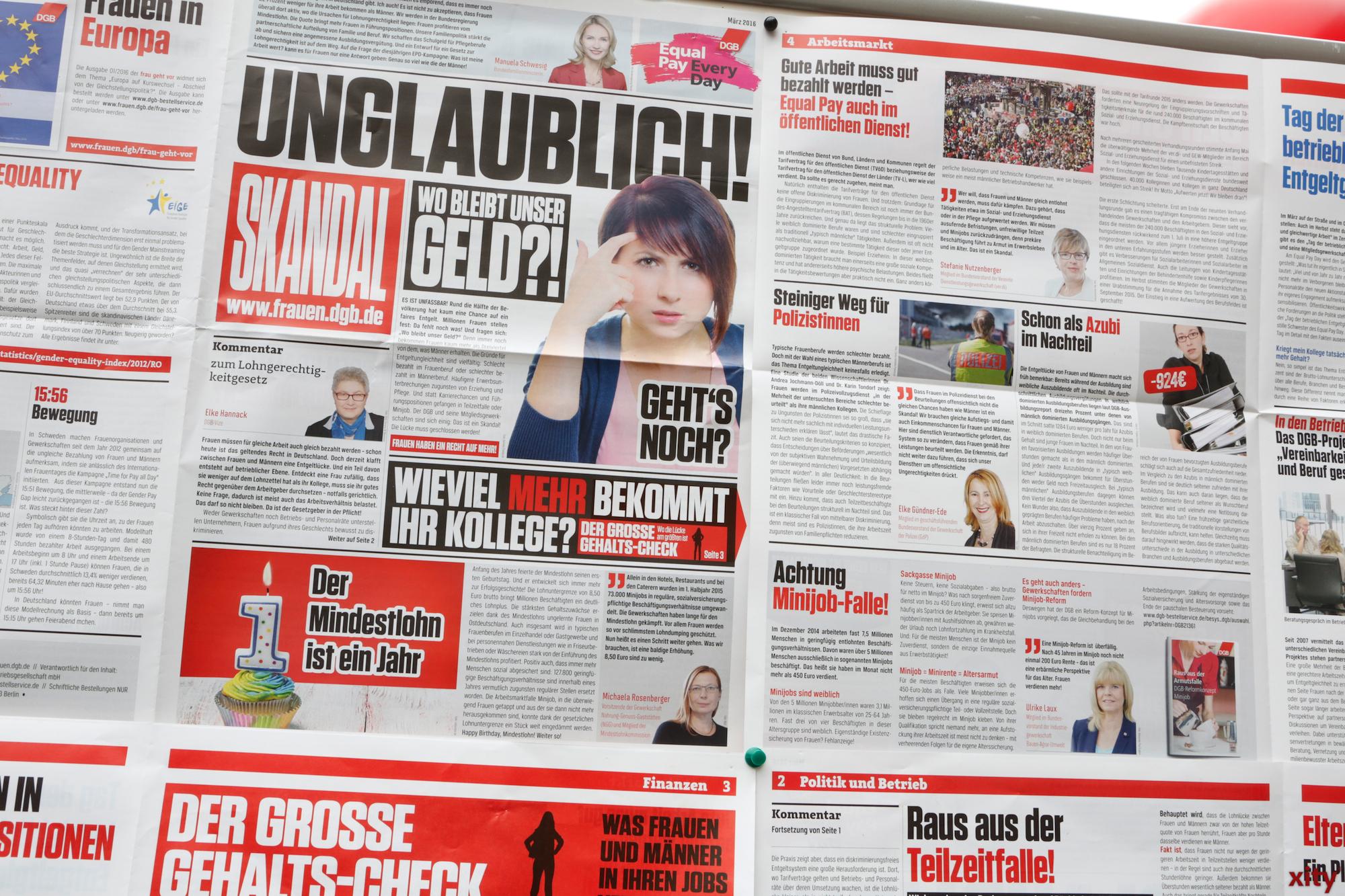 """Skandal"" als fiktive Zeitung (Foto: xity)"