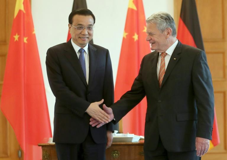 Bundespräsident Gauck zu Staatsbesuch in China (© 2016 AFP)