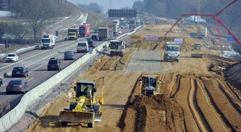 Bürger können am Bundesverkehrswegeplan mitwirken (© 2016 AFP)
