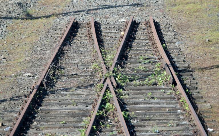 Metalldiebe stehlen 25 Tonnen alte Eisenbahnschienen in Mecklenburg-Vorpommern (© 2016 AFP)