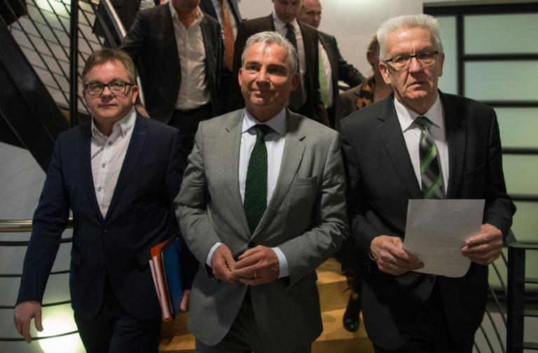 Wirtschaft fordert rasch grün-schwarzes Bündnis in Baden-Württemberg (© 2016 AFP)