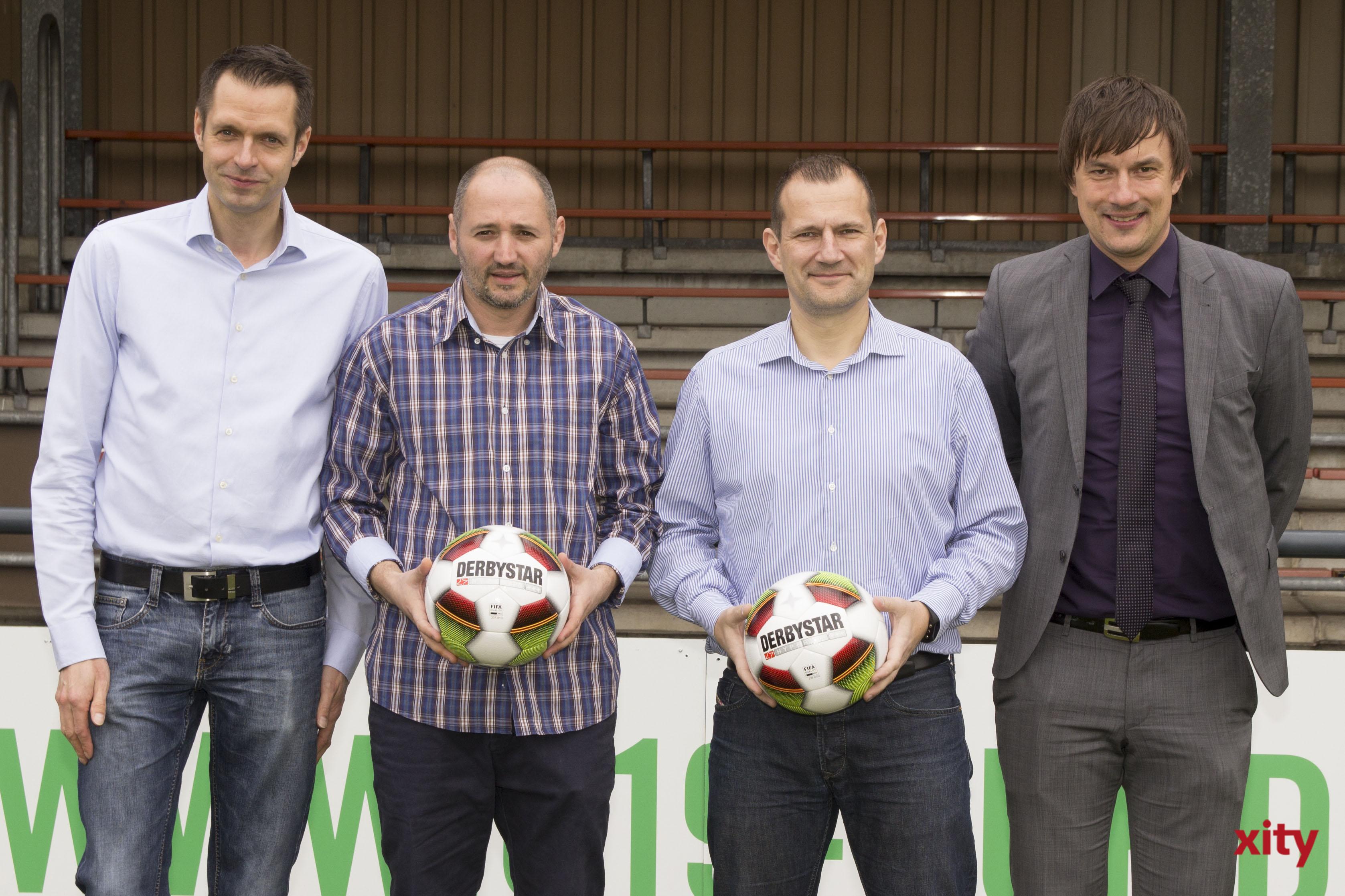 Martin Meyer, Oliver Neuville, Sinisa Suker, Marcus Giesenfeld (Foto: xity)