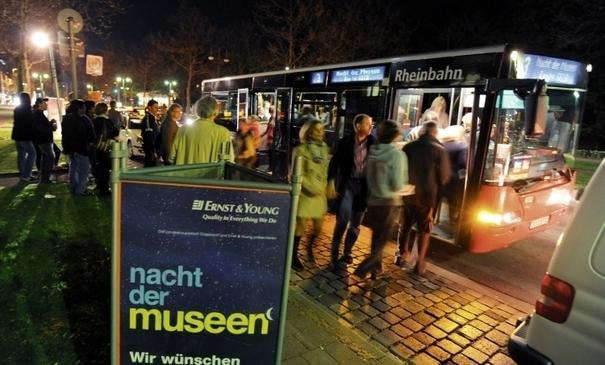 Zu einem kunstvollen Frühlingserlebnis in besonderer Atmosphäre lädt die Düsseldorfer Nacht der Museen ein (Foto: xity)
