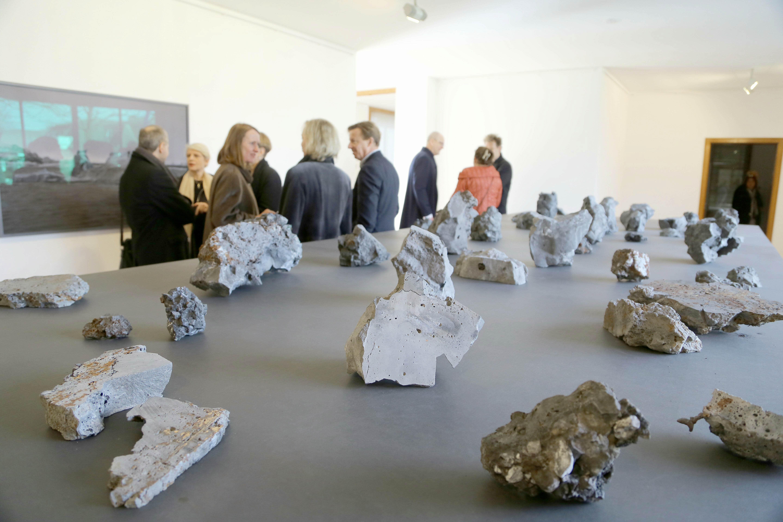 """Die Ausstellung """"Die Kräfte hinter den Formen"""" ist in den Museen Haus Lange und Haus  Esters zu sehen (Foto: Stadt Krefeld, L. Strücken)"""