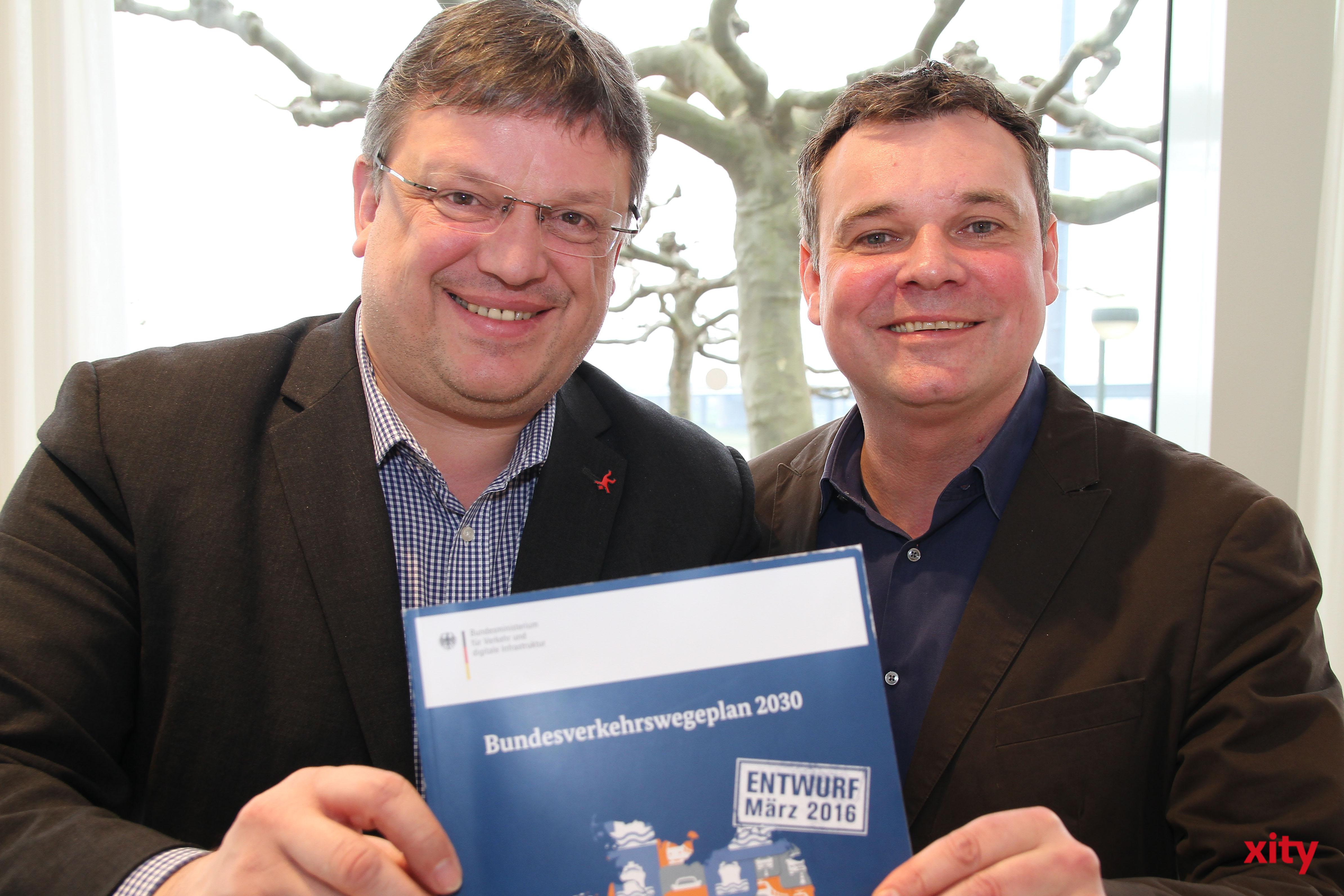 Andreas Rimkus und Markus Herbert Weske (Foto: xity)