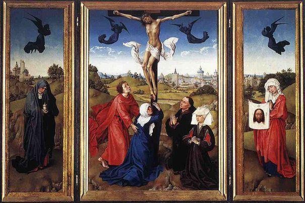 Am Karfreitag gedenken Christen der Kreuzigung Jesu (Foto: Rogier van der Weyden)