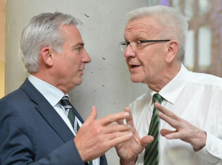 CDU-Landeschef in Baden-Württemberg nach Gesprächen mit Grünen optimistisch (© 2016 AFP)
