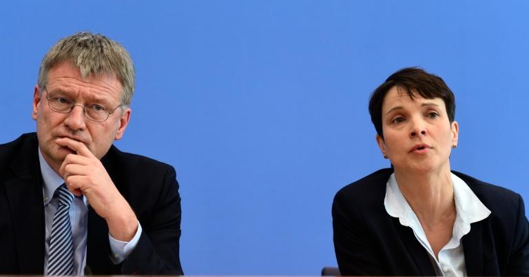 AfD-Spitze betont nach Eklat um Landesverband ihre Distanz zu radikalen Rechten (© 2016 AFP)