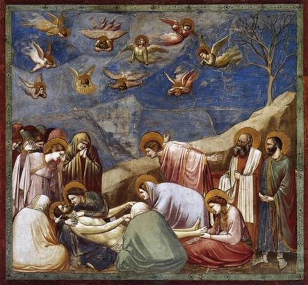 Die Beweihung Christi (Foto: Giotto di Bondone)