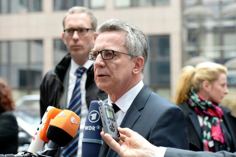 """De Maizière bereut Aussage """"Teil dieser Antworten würde Bevölkerung verunsichern"""" (© 2016 AFP)"""