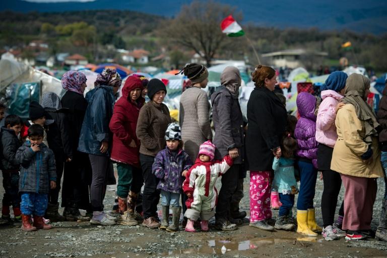 Steinmeier verteidigt Flüchtlingsabkommen mit der Türkei (© 2016 AFP)