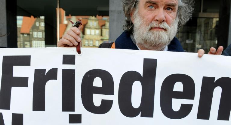 Friedensbewegung zieht positive Bilanz der Ostermärsche (© 2016 AFP)