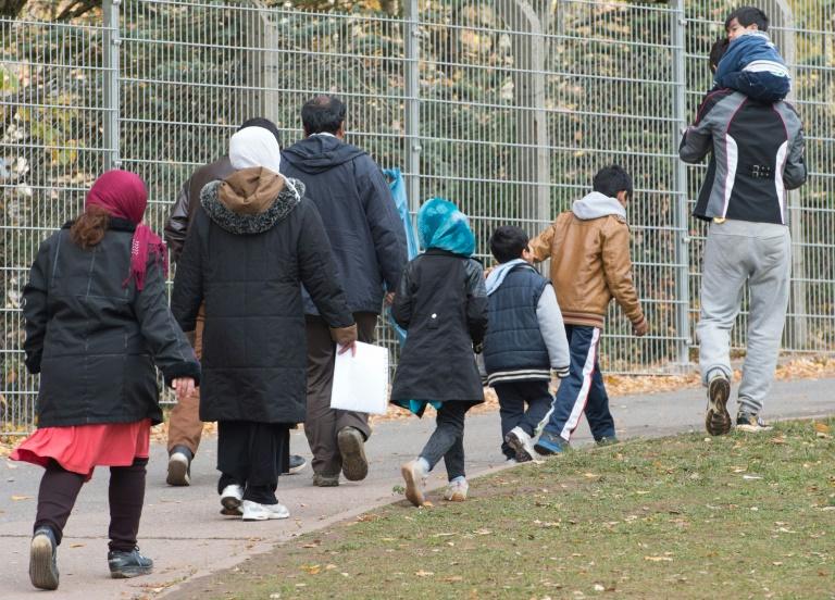 Seit Monatsbeginn nur knapp 5200 Flüchtlinge nach Deutschland gekommen (© 2016 AFP)