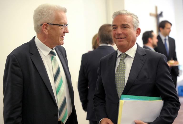 Sondierungsgespräche von Grünen und CDU in Baden-Württemberg abgeschlossen (© 2016 AFP)