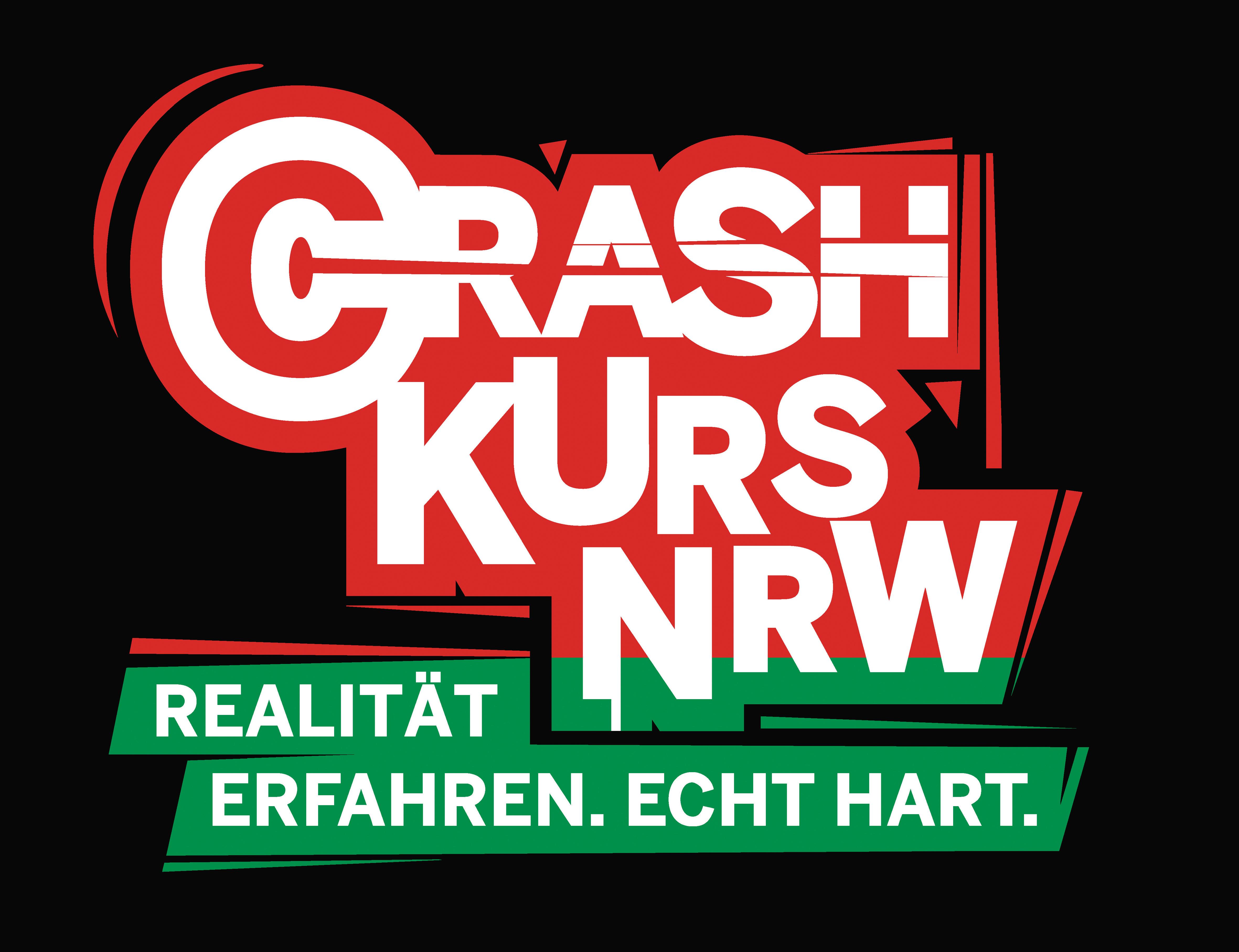 """""""Crash Kurs NRW - Realität erfahren. Echt hart.""""""""Crash Kurs NRW - Realität erfahren. Echt hart."""" (Foto: Polizei Mettmann)"""