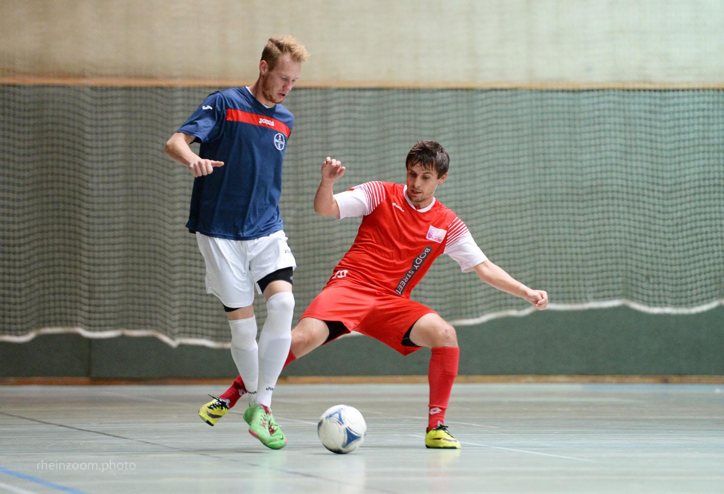 Das Futsal-Team des SC Bayer 05 siegte mit 7-4 gegen den PSV We (Foto: rheinzoom)