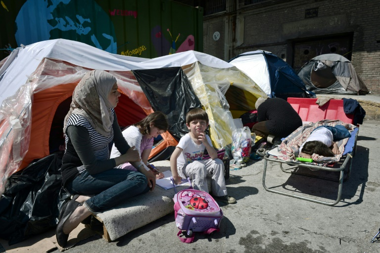Berlin ruft Idomeni-Flüchtlinge zur Nutzung anderer griechischer Unterkünfte auf (© 2016 AFP)