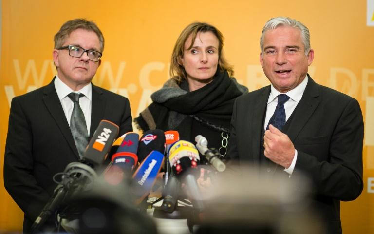 Grün-schwarze Koalitionsverhandlungen in Stuttgart können beginnen (© 2016 AFP)