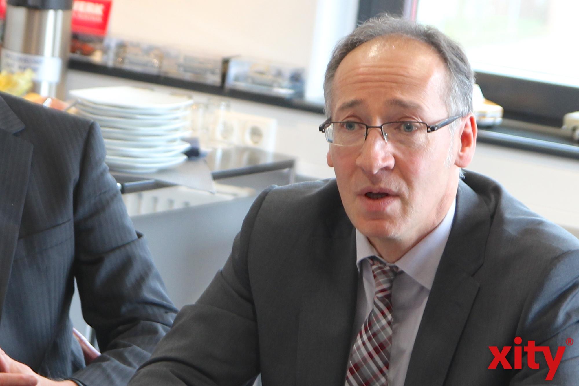 Roland Schüßler, Geschäftsführer der Agentur für Arbeit Düsseldorf (Foto: xity)