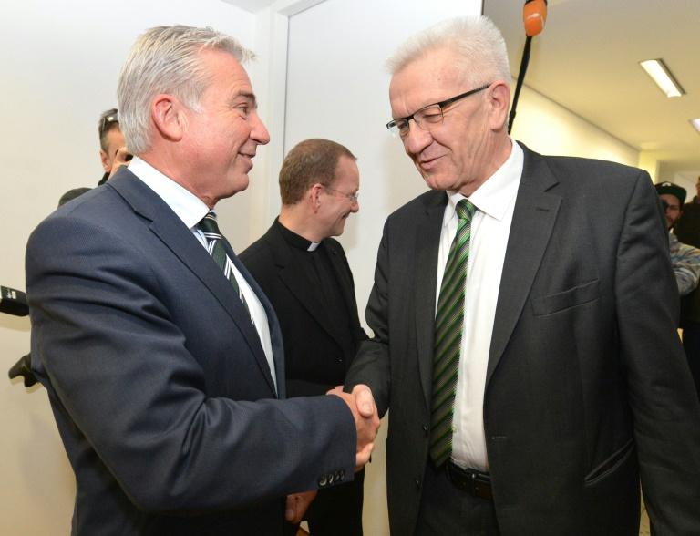 Zügige Verhandlungen über grün-schwarze Koalition in Baden-Württemberg (© 2016 AFP)
