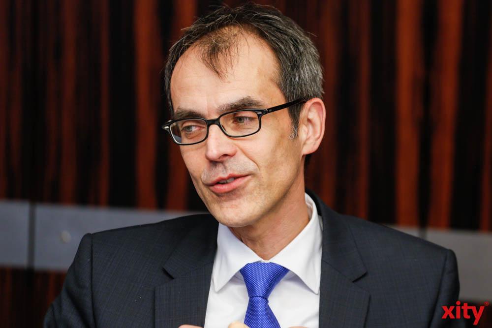 Wolfgang Draeger, Geschäftsführer operativ der Agentur für Arbeit Mönchengladbach. (Foto: xity)