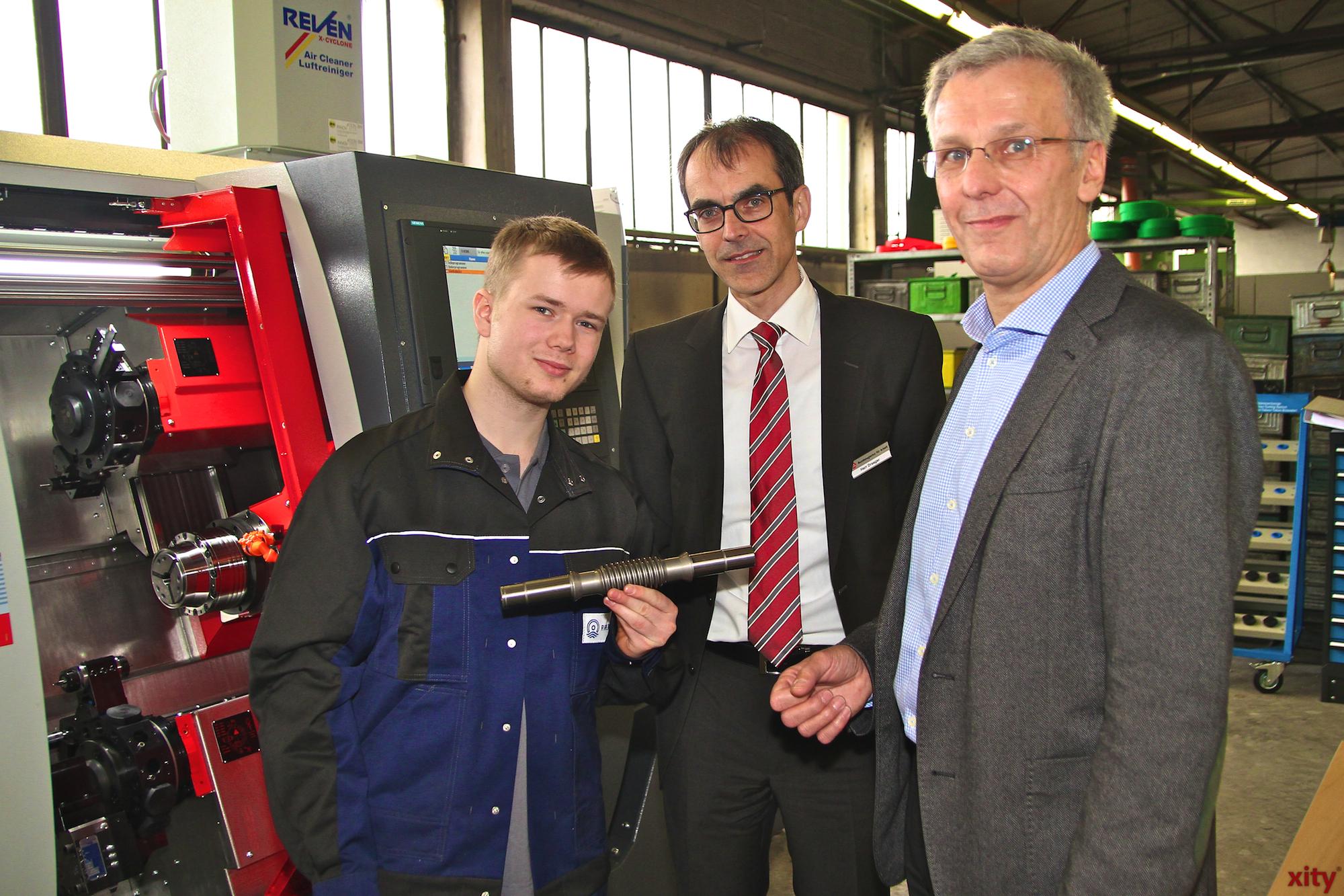 (v.l.) René Zimmermann, Wolfgang Draeger und Hermann Heringer (Foto: xity)