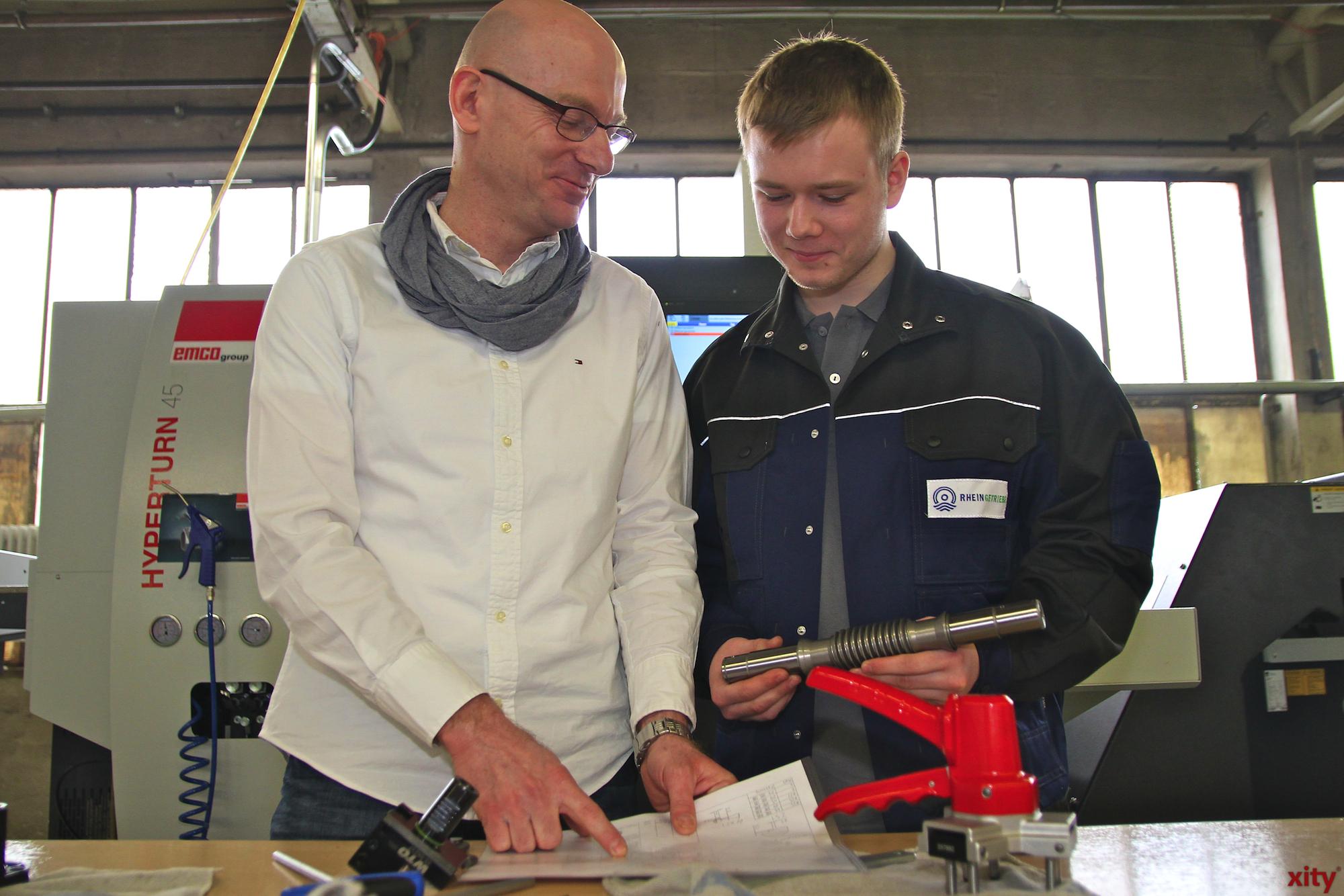 Frank Broich (l.) und René Zimmermann(Foto: xity)