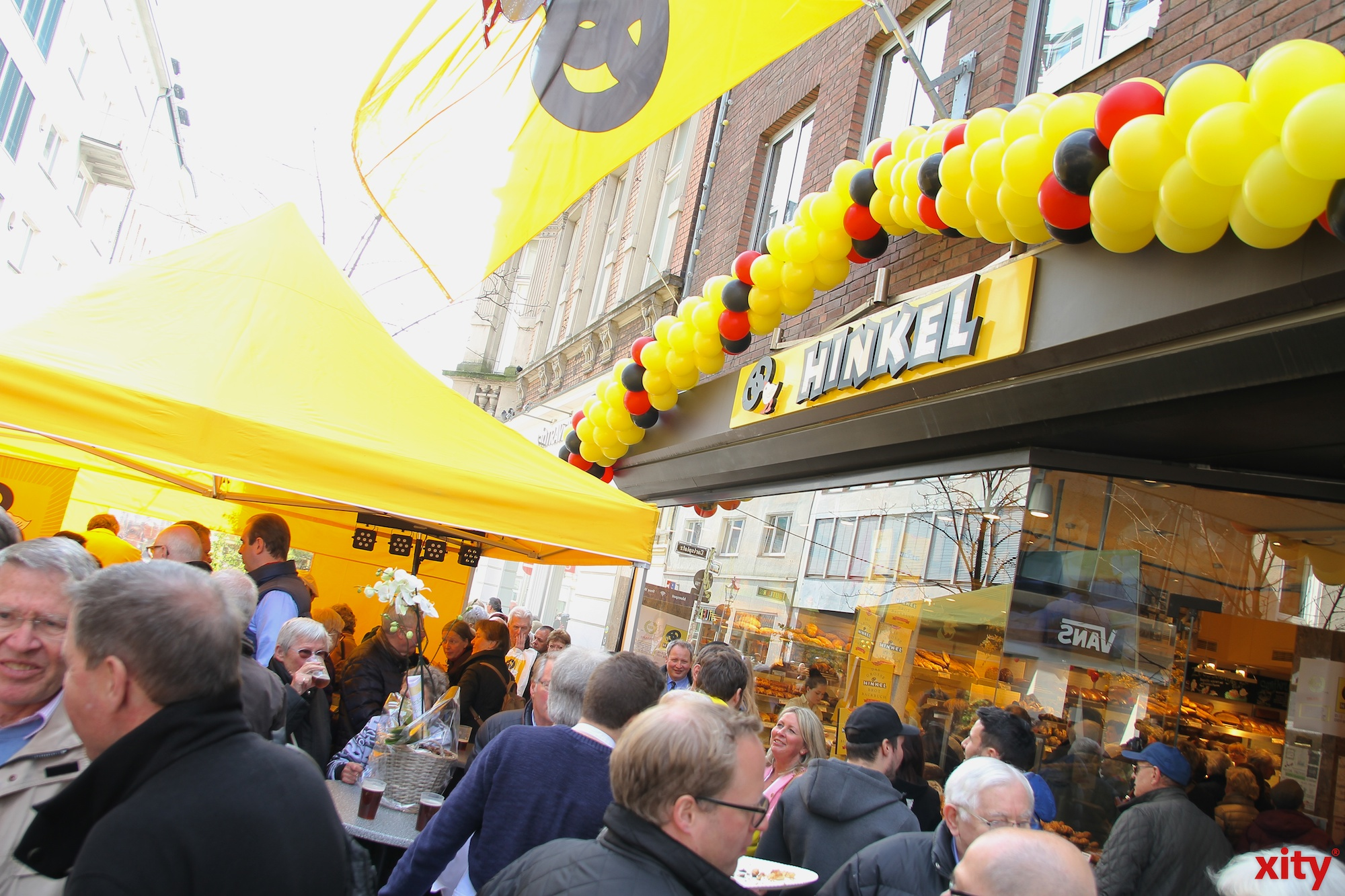 Die Bäckerei Hinkel feierte am Freitag 125 Jahre (Foto: xity)