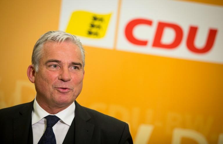 Debatte über CDU-Chef Strobl in möglichem grün-schwarzen Bündnis in Stuttgart (© 2016 AFP)
