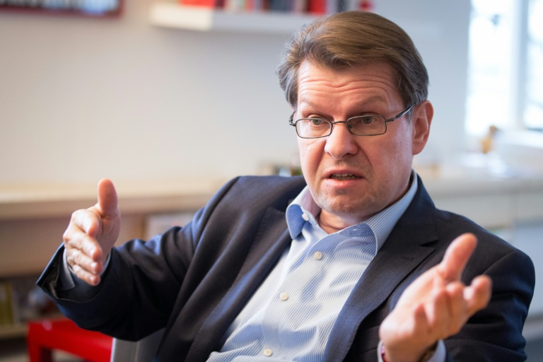 SPD-Vize Stegner fordert verstärkten Kampf gegen Steuerhinterziehung (© 2016 AFP)