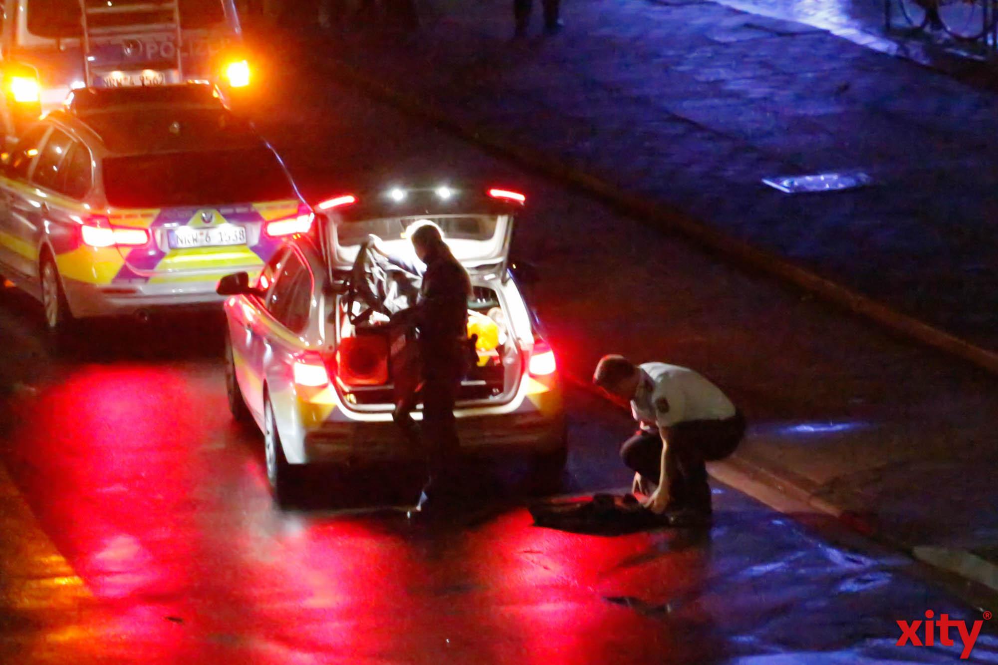Die Polizei schützte sich selbst (Foto: xity)