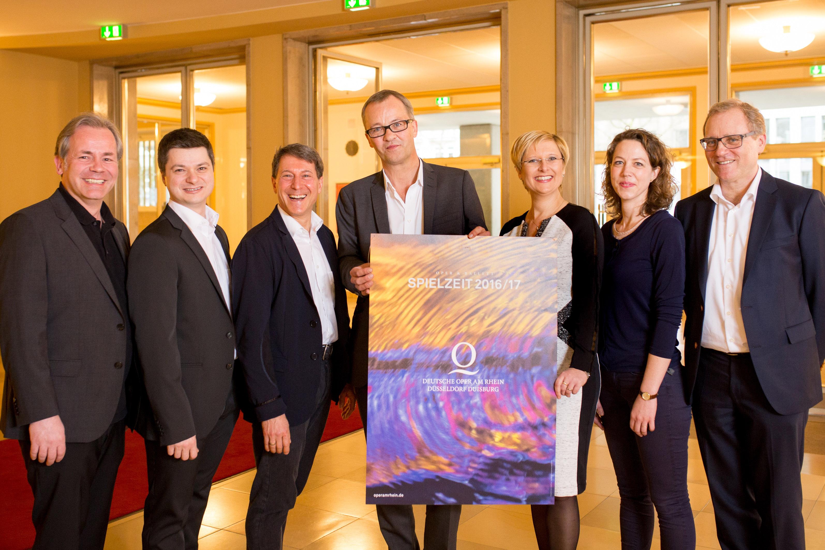 Spielzeit 2016/17 an der Deutschen Oper am Rhein vorgestellt (Foto: Susanne Diesner)