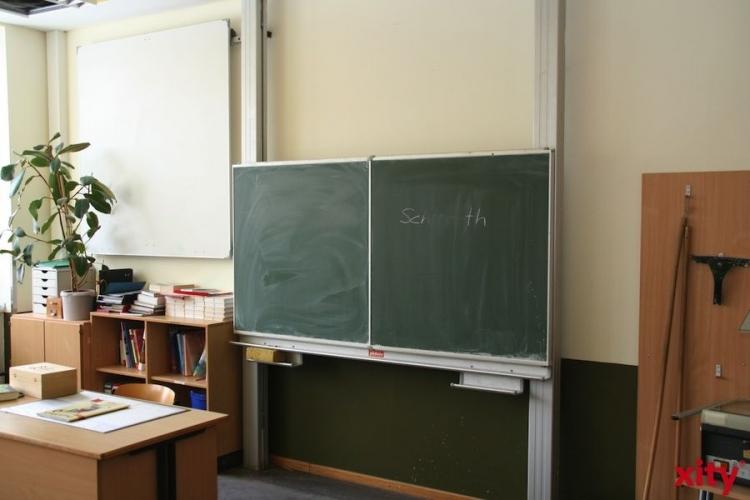 Am Litzgraben startet der Schulbetrieb am heutigen Donnerstag wieder (Foto: xity)