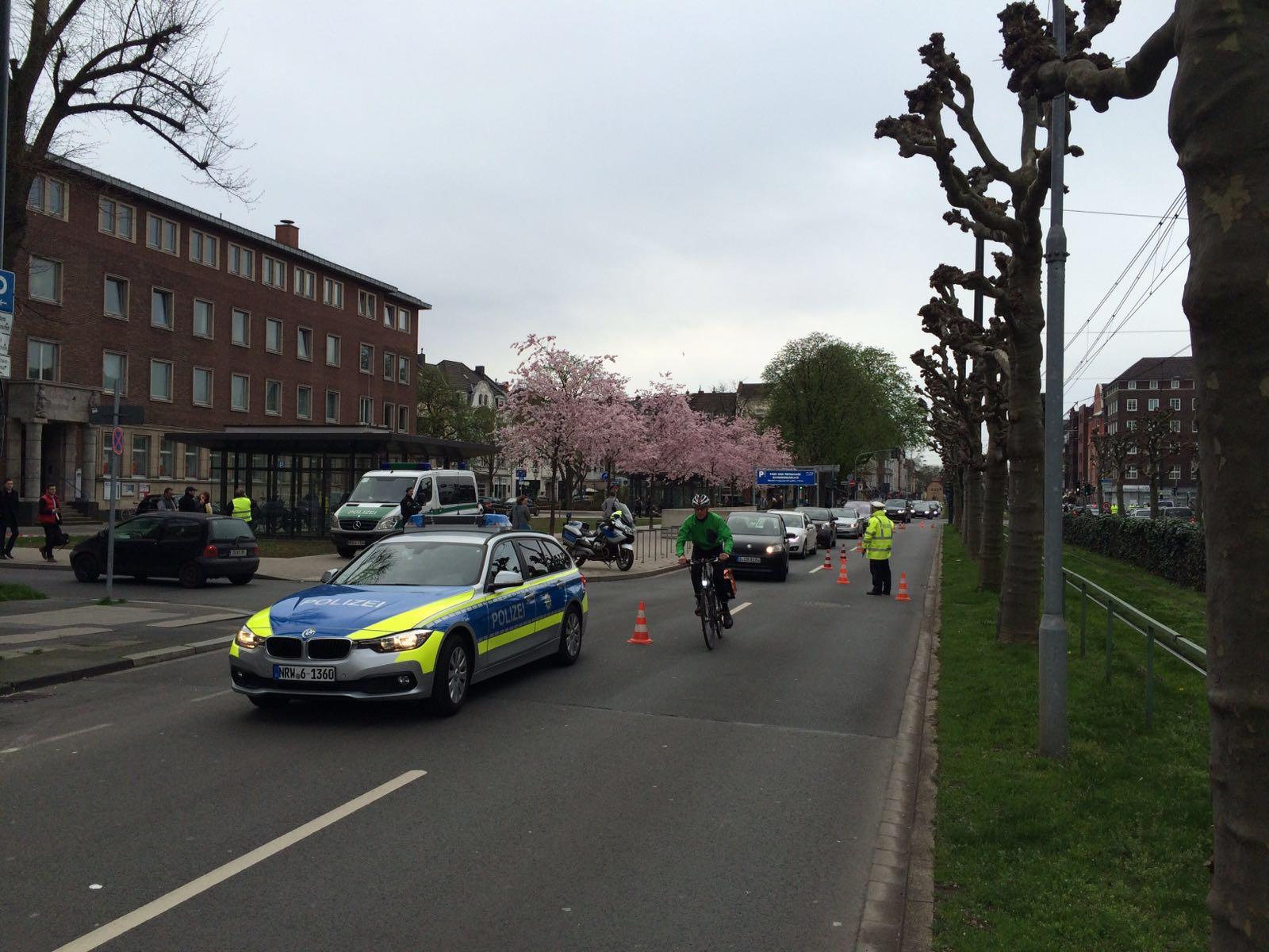 Verstärkte Kontrollen im Düsseldorfer Stadtgebiet (Foto: Polizei Düsseldorf)
