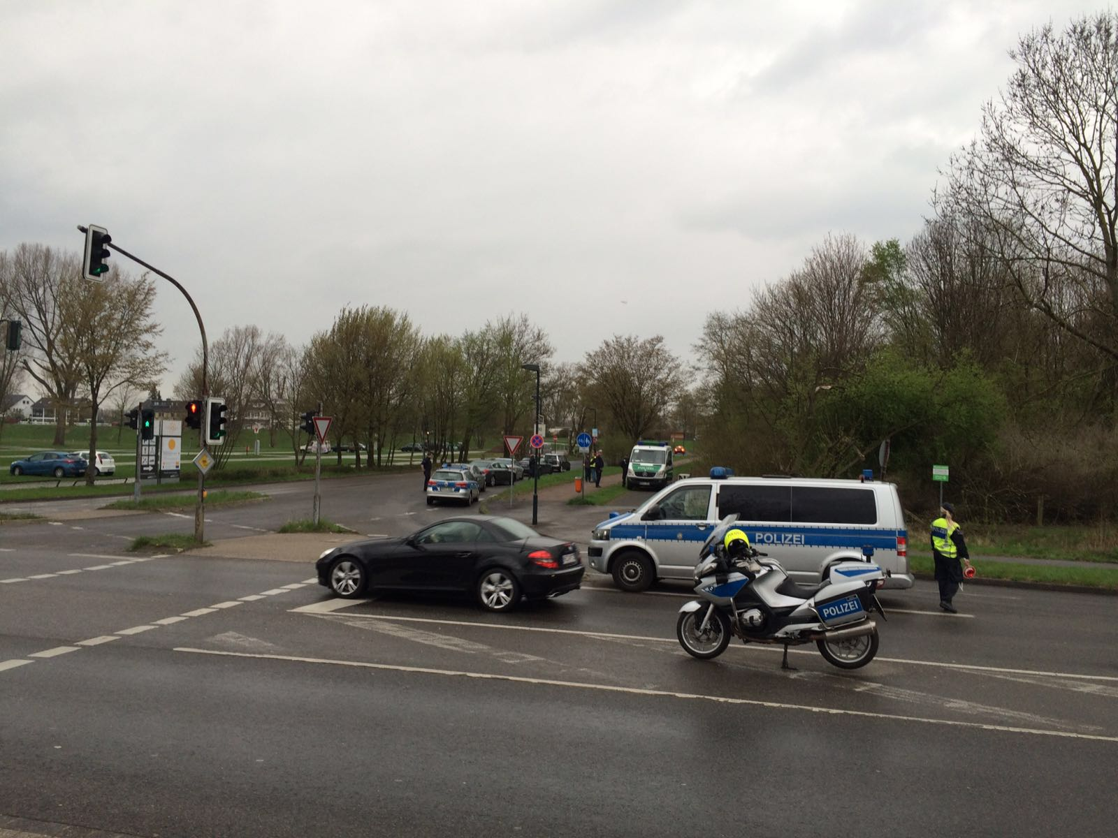 Verstärkte Kontrollen im Stadtgebiet (Foto: Polizei Düsseldorf)