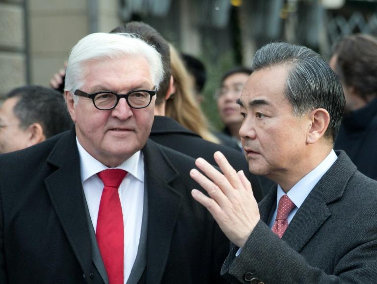 Steinmeier beginnt Asien-Reise mit politischen Gesprächen in Peking (© 2016 AFP)