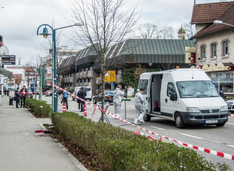 Opfer der Schießerei in Heidenheim im Krankenhaus gestorben (© 2016 AFP)