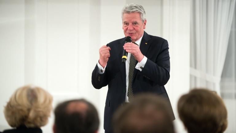 Mehrheit der Deutschen wünscht sich in Umfrage zweite Amtszeit von Gauck (© 2016 AFP)