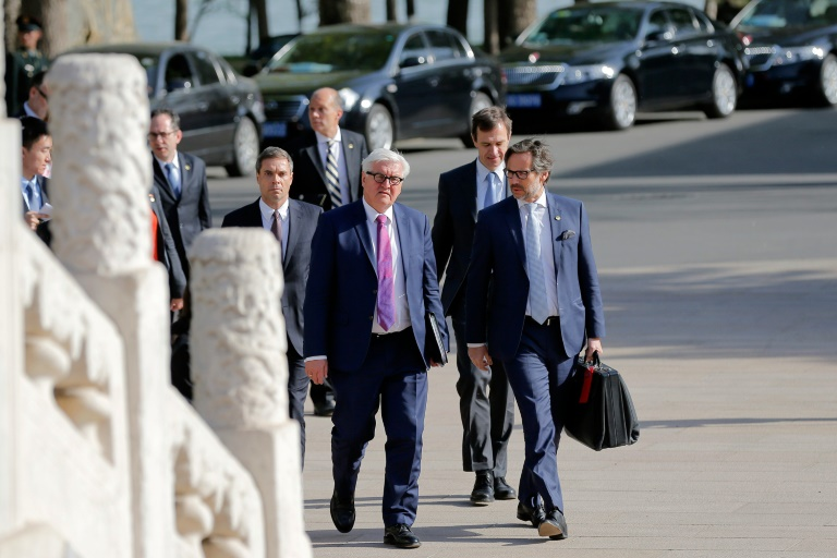 Steinmeier verpasst wegen Flugzeugpanne Auftakt von G7-Außenministertreffen (© 2016 AFP)