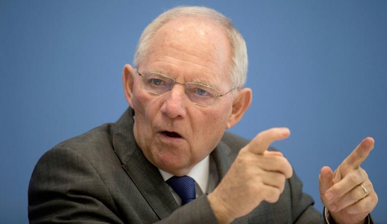 Schäuble dringt auf internationalen Informationsaustausch der Steuerbehörden (© 2016 AFP)