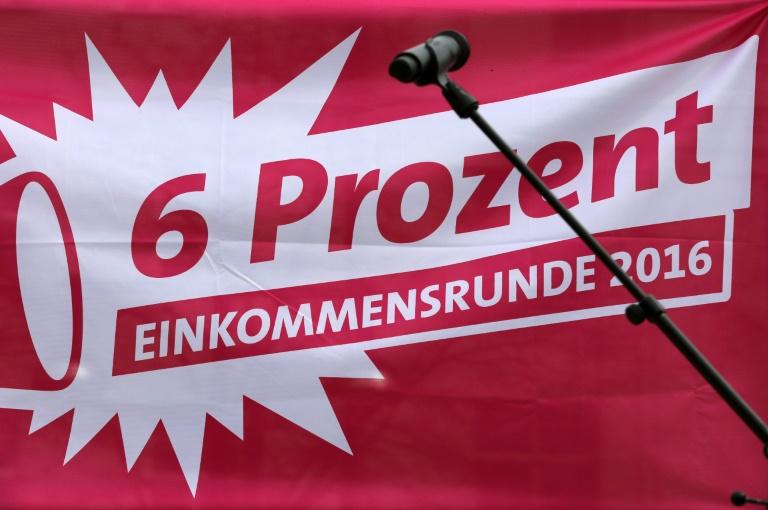 Tarifverhandlungen von Bund und Kommunen gehen in zweite Runde (© 2016 AFP)