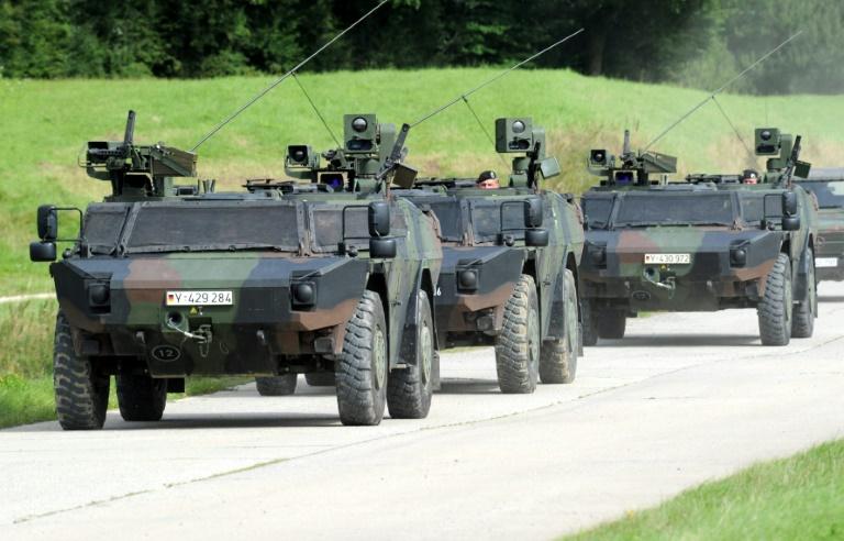 Bundeswehr trainiert strategische Truppenverlegung in Niedersachsen und Bremen (© 2016 AFP)