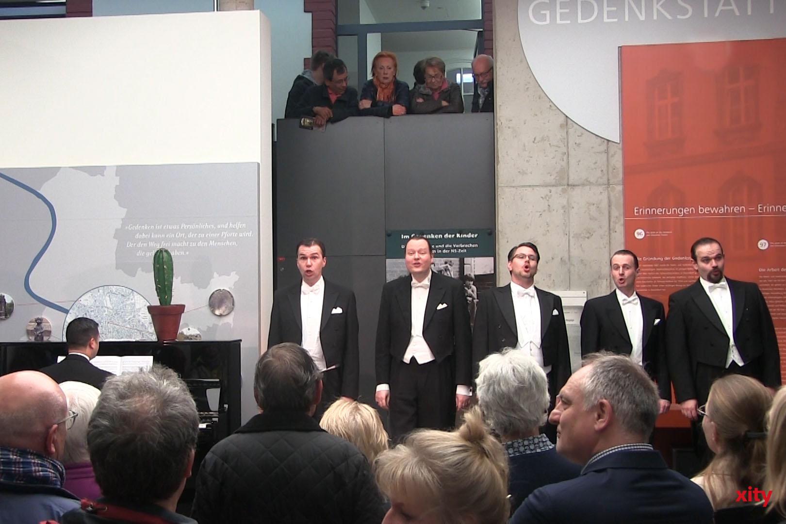 Das ensemble six sang im Stile der Comedian Harmonists (Foto: xity)