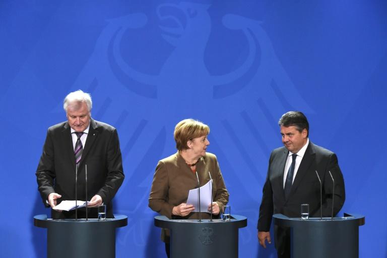 Große Koalition will sich um gemeinsame Linie für die kommenden Monate bemühen (© 2016 AFP)