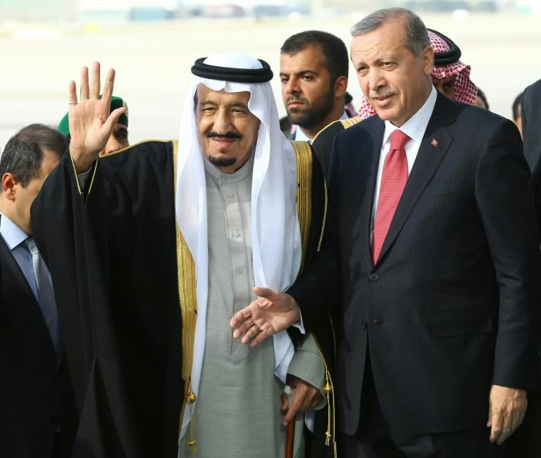 Erdogan hat Strafantrag gegen Böhmermann gestellt (© 2016 AFP)