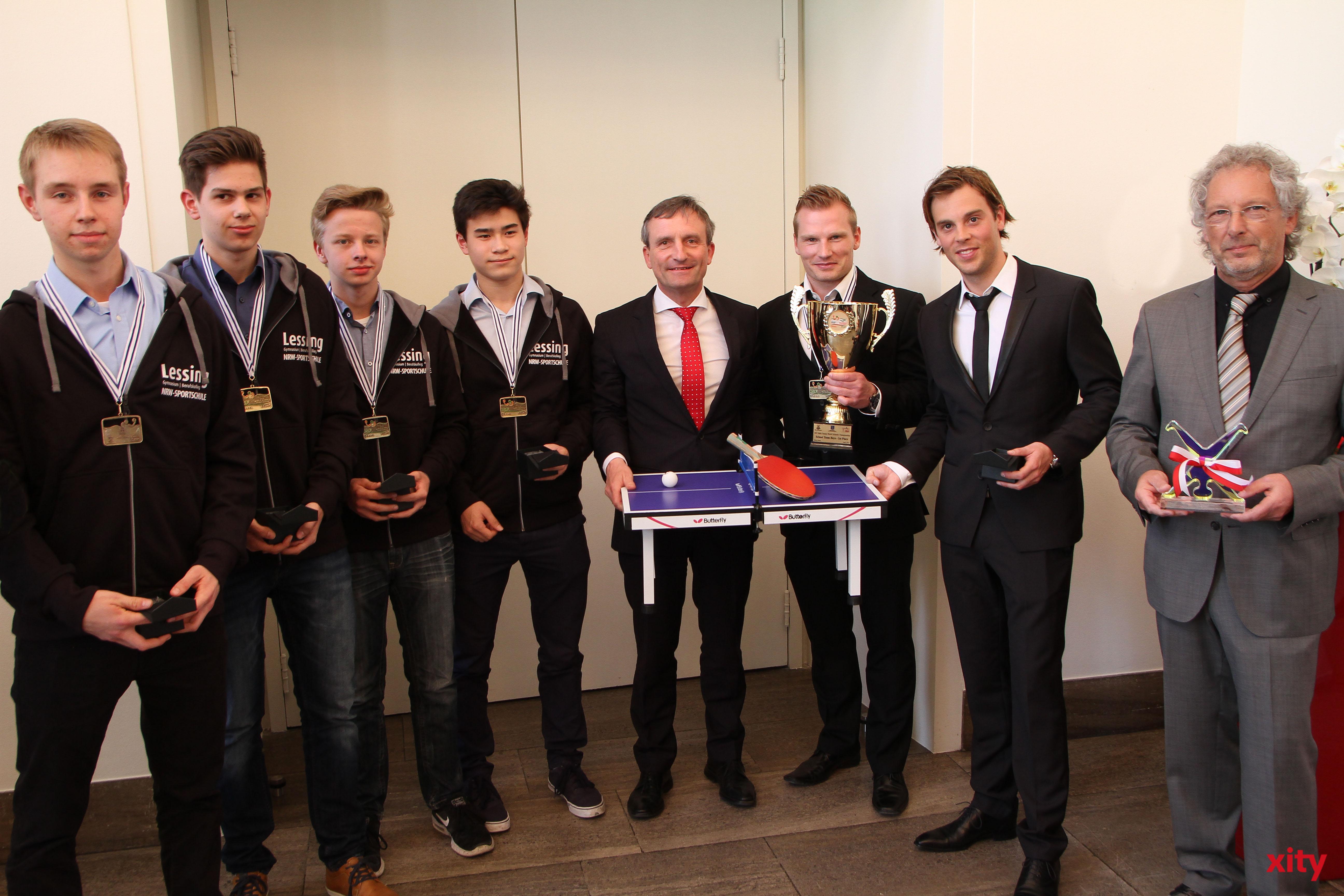Das Team des Lessing-Gymnasiums holte den WM-Titel (Foto: xity)