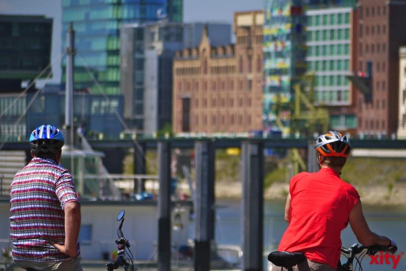 Nur 17 Prozent der Radfahrer schützen ihren Kopf mit einem Helm (Foto: xity)