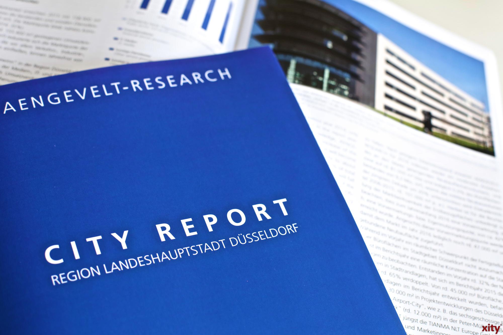 Aengevelt City-Report 2016 vorgestellt (Foto: xity)