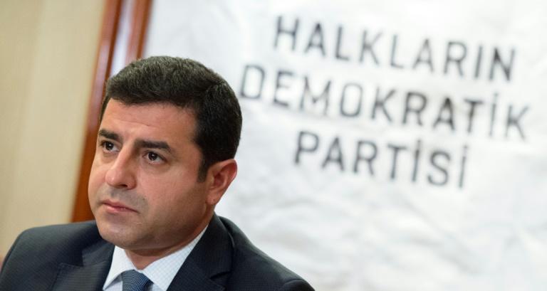 Kurdenpolitiker Demirtas kritisiert deutschen Umgang mit türkischer Regierung (© 2016 AFP)